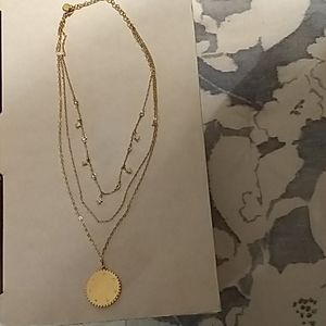 Baublebar multiple chain necklace NEVER WORN